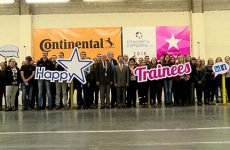 Les apprentis ont bien noté l'usine Continental de Sarreguemines.