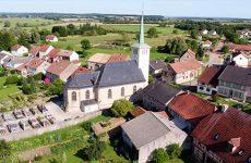 Mosaïk vous fait découvrir la carte postale du village de Kappelkinger.