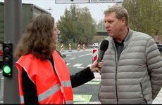 Les signaux tricolores sont désormais en fonction au nouveau carrefour de la rue de la paix à Sarreguemines.