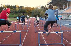 A fond les sprinters et les hurdleurs.