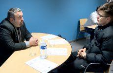 Des entreprises, en recherche d'apprentis, ont présenté leur établissement aux élèves du lycée Henri Nominé.