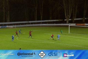 Résumé de la rencontre qui opposait le Sarreguemines FC au Haguenau FCSR.