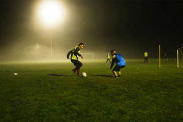 Premier sport en milieu rural, le football. On découvre l'AS Bliesbruck, club de D1.