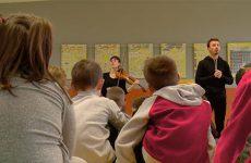 L'Association organise différents ateliers musicaux afin de sensibiliser le public à la musique classique.
