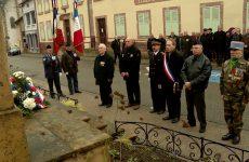 Hommage aux « morts pour la France » pendant la guerre d'Algérie et les combats du Maroc et de la Tunisie.