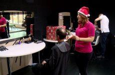 Une coupe de cheveux pour aider les enfants malades.