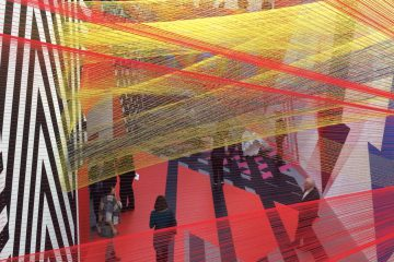L'artiste Pae White expose à Sarrebruck