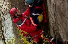 Exercice des pompiers de Sarreguemines