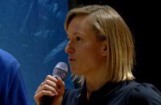 Aurélie Muller évoque la place de la femme dans le sport