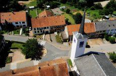 Mosaïk vous fait découvrir la carte postale du village de Lixing-lès-Rouhling.