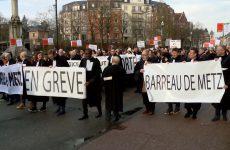 Grogne des avocats à Sarreguemines