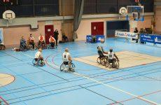 Les Red Dragons de Saint-Avold, au plus haut-niveau français du handi-basket.