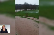 Inondations au golf Sarreguemines Confluence