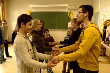 À Sarreguemines, des élèves scolarisés en ULIS découvrent le monde.