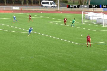 Résumé de la rencontre qui a opposé l'équipe réserve du FC Metz et le SFC.