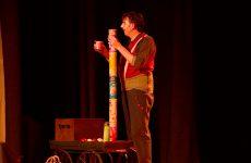 Spectacle de cirque et jonglerie