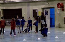 """Rencontres USEP """"Jeux de ballons/Joueur but/Basket-ball"""""""