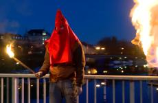 Condamnation du Prince Maxence 1er pour clore les festivités du Carnaval.