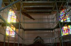 L'église de Neunkirch fait peau neuve.