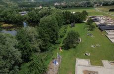 Mosaïk vous fait découvrir la carte postale du village de Bliesbruck.