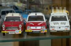 Alexandre Martin est passionné de véhicules miniatures.