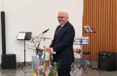 Frank-Walter Steinmeier était en visite en Sarre
