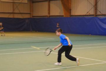 Nicolas Gry, une graine de champion de l'ASS Tennis.