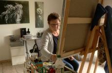 Les belles peintures colorées d'Evelyne Niesser