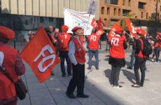 Le syndicat FO se mobilise au siège de l'ARS à Metz