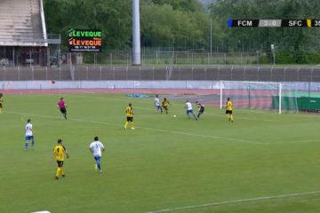 Résumé de la rencontre du FC Mulhouse et du Sarreguemines FC.