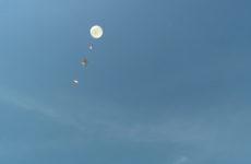 Un ballon-sonde a été envoyé dans l'espace depuis le lycée Robert Doisneau