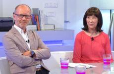 Marc Zingraff et Isabelle Jung présentent le programme du week-end.
