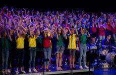 250 collégiens sur scène à l'occasion du concert des chorales des collèges du bassin de Sarreguemines