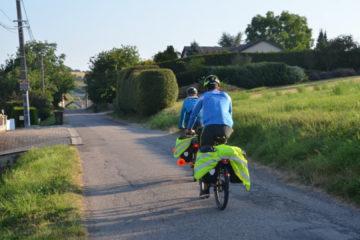 Aymeric Amann licencié à l'ASSA en route pour la Russie à vélo