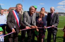 Sarralbe passe au synthétique Le nouveau stade de foot a été inauguré
