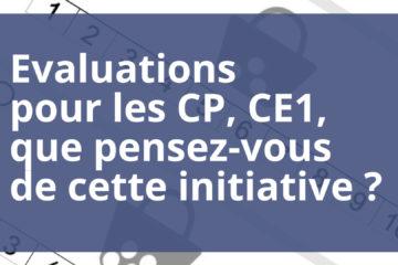 question, évaluations, CP, CE1