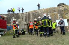 Grosse intervention au fort du Haut-Poirier à Achen