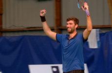 Clap de fin du tournoi de tennis Future