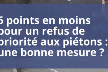 questions, 6 points, piétons