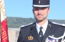 Le lieutenant Schwalbach a officiellement pris ses fonctions